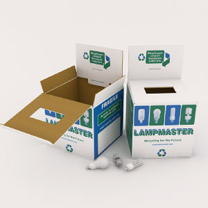 CFL Recycling Lamp Container
