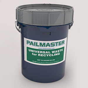 Pailmaster CFL Recycling Pail Kit
