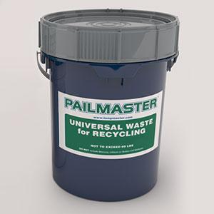 Pailmaster CFL Recycling Pail Kit