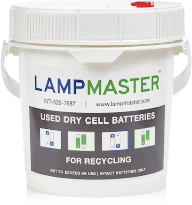 Dry Cell Battery Recycling Kit 1gal