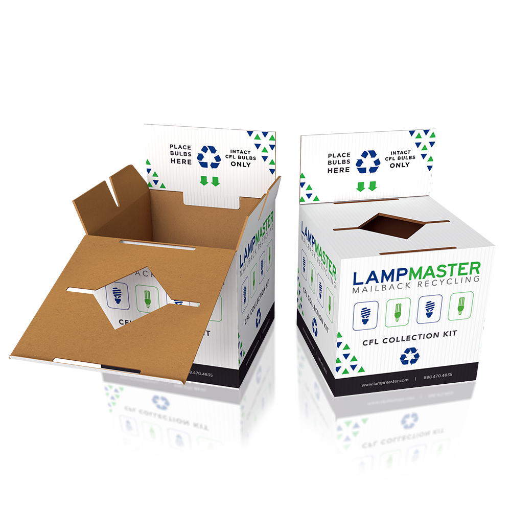 LED Bulb Commercial Recycling Kit