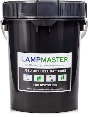Dry Cell Battery Recycling Kit 5gal