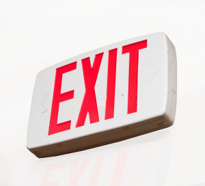 Tritium Exit Sign Disposal Kit