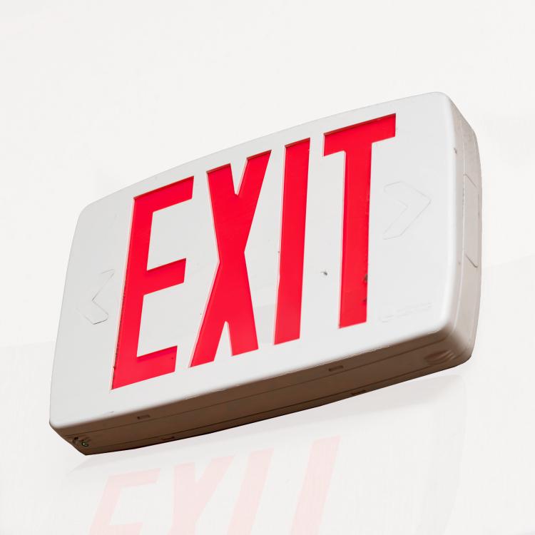 Tritium Exit Sign Disposal Kit