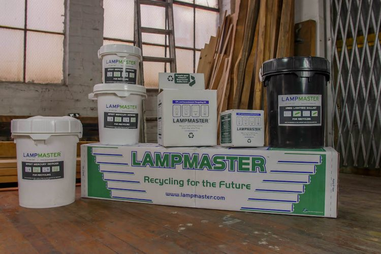 lampmaster mail-back recycilng kits