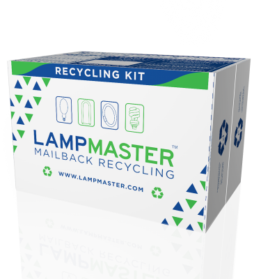 metal halide bulb recycling kit
