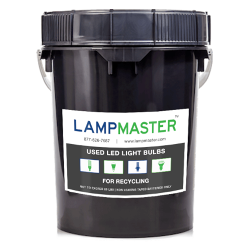 LED Bulb Recycling Kit 5 gal