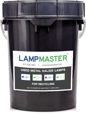 metal halide recycling kit 5gal