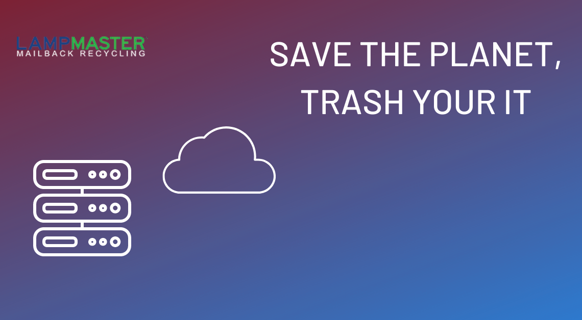 save the planet by recycling old electronics
