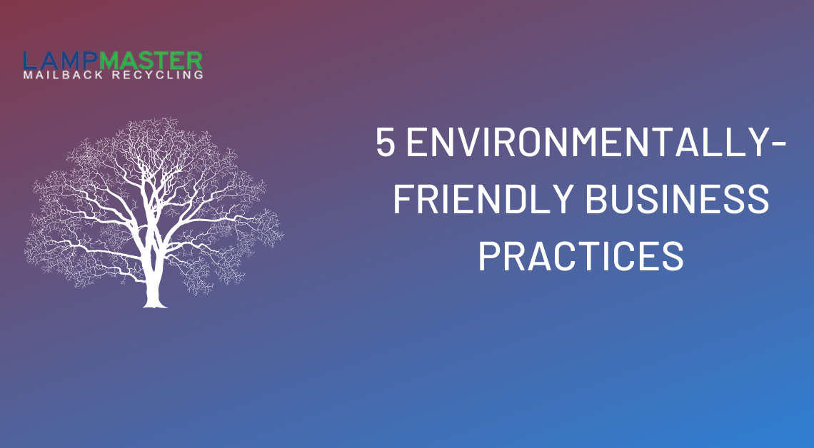 5 environmentally friendly business practices